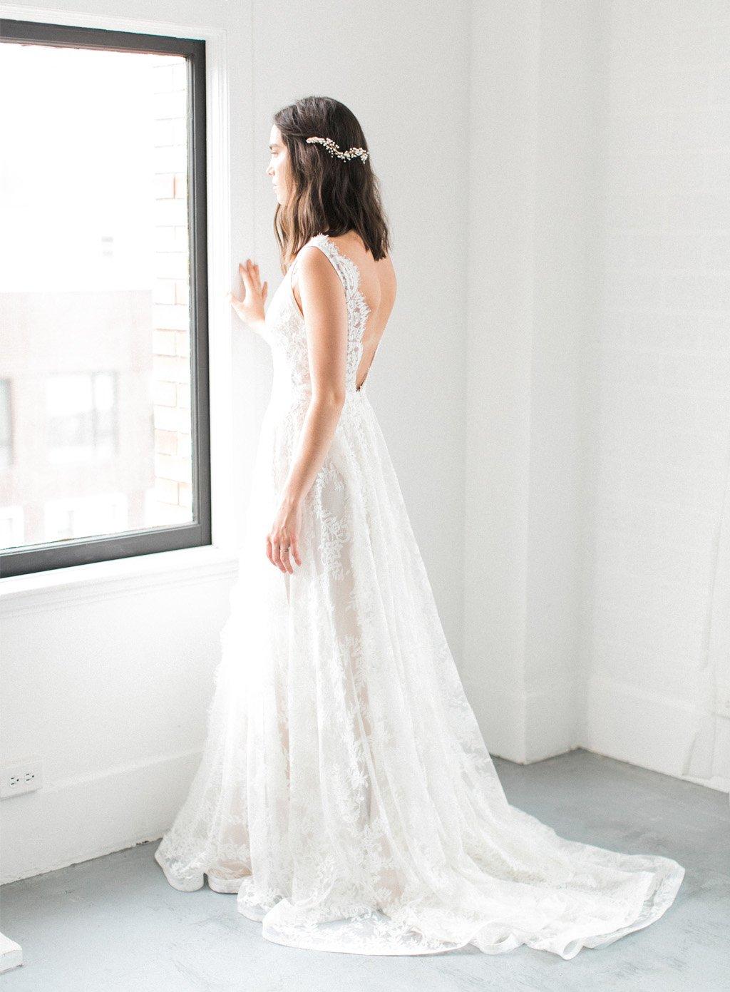 e993f63a32b Blonde brudekjole – Romantiske eller moderne?