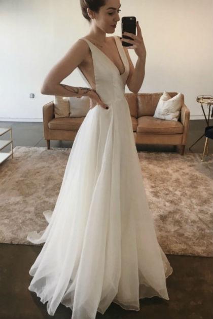 Prinsesse brudekjole Sarah Seven Lorelei